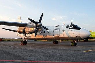 Angara Airlines - Antonov An-24RV