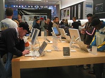 Apple Store, North Michigan Avenue, Chicago, IL