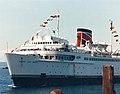Approaching Pier 69 Seattle May 1987.jpg