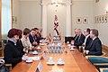 Apvienotās Karalistes parlamenta Pārstāvju palātas priekšsēdētāja oficiālā vizīte Latvijā (26391760178).jpg