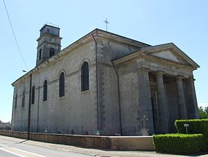 Arc-sur-Tille - The Church of Saint Martin