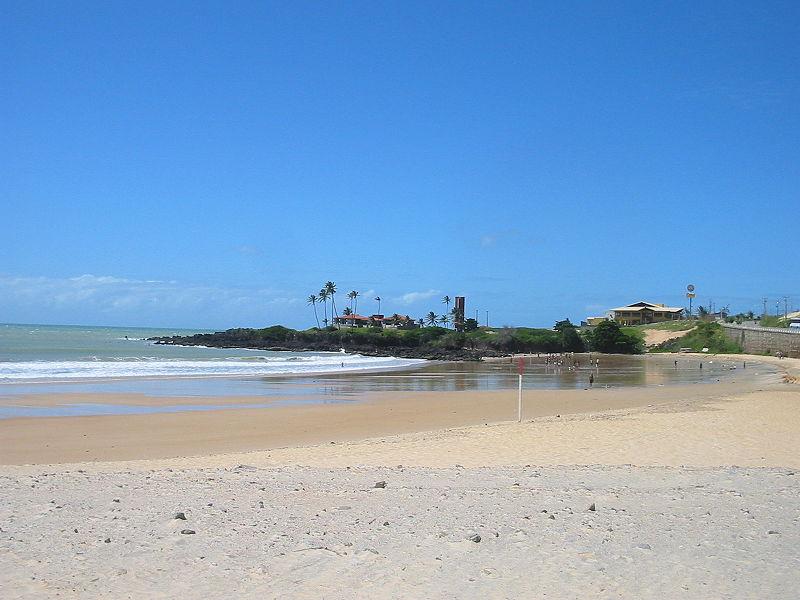 Praias de Natal Praia da areia preta