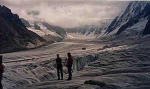 Argentière - Image: Argentiere glacier neal mcquaid