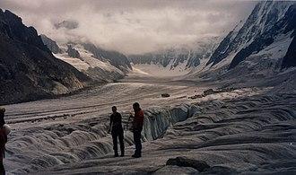 Argentière - The Argentière Glacier.