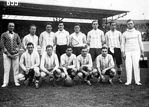 Football at the 1928 Summer Olympics - The Argentina team won the Silver Medal.