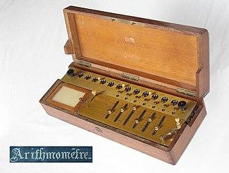 Arithmometer - Image: Arithmometre