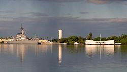 Arizona Memorial at Pearl Harbor, Hawaii