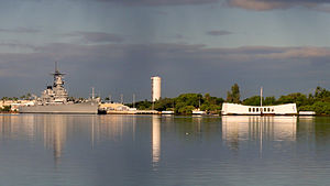 Arizona Memorial at Pearl Harbor, Hawaii