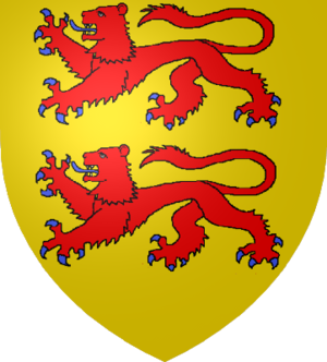 Gaston VI, Viscount of Béarn - Coat of arms of Bigorre, now in southwest France.