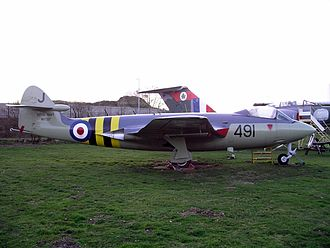 Midland Air Museum - Armstrong Whitworth Sea Hawk FGA.6 (ex. serial number WV797)