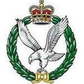 Army Air Corps (United Kingdom) - Cap Badge of the Army Air Corps.