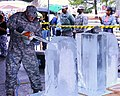 Army Reserve team earns bronze in ice sculpting 150311-A-AA999-002.jpg
