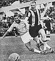 Arne Larsson, football player for Hammarby, and Sven Dyberg, Malmö FF.jpg