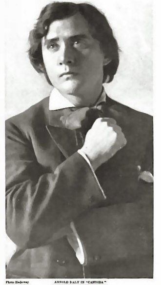 Arnold Daly - Arnold Daly as Eugene Marchbanks  in Shaw's Candida (1903)