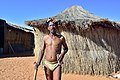 Arri Raats, Kalahari Khomani San Bushman, Boesmansrus camp, Northern Cape, South Africa (20350744970).jpg