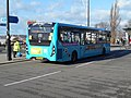 Arriva Kent & Surrey SN67WUG (rear), Chatham Bus Station, 16 January 2018.jpg