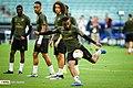 Arsenal players training before 2019 UEFA Europa League final 23.jpg