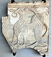 Arte costantinopolitana, frammento di pluteo con aquila, XI sec (da facciata interna ca' d'oro).JPG