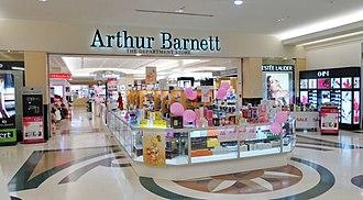Arthur Barnett Ltd - Image: Arthur Barnett Main Entrance angle Meridian Ground Level 2013