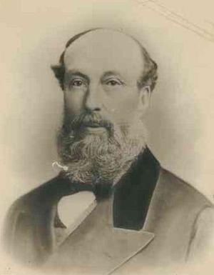 Arthur Hardy (businessman) - Arthur Hardy ca. 1858