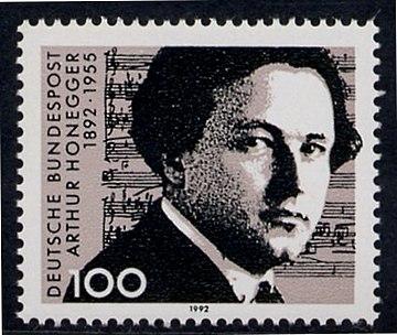 Arthur Honegger (timbre RFA)