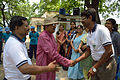 Arup Roy Shakes Hands with Prasanta Bhattacharya - Summer Camp - Nisana Foundation - Sibpur BE College Model High School - Howrah 2013-06-09 9722.JPG