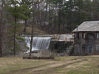Ascutney Mill Dam Dam in Windsor, Vermont