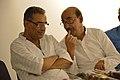 Ashim Kumar Banerjee and Biswatosh Sengupta Kolkata 2015-07-28 3291.JPG