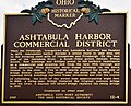 Ashtabula Harbor Commercial District Marker.jpg
