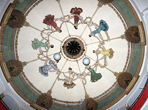 Asmara's Opera - Roof of Asmara's Opera
