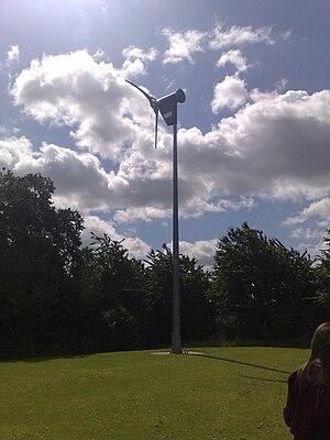 """Astley Cooper School - School wind turbine """"Ivor"""""""