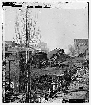 Edward A. Vincent - The depot was demolished by Federal troops as they were leaving Atlanta on Sherman's March to the Sea.