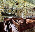 Außen schlicht, innen farbenfroh, die alte Kirche von Stordal. 03.jpg