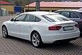 Audi A5 Sportback 2.0 TDI Ibisweiß Heck.JPG