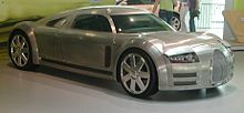 Photo du concept-car Audi Rosemeyer.