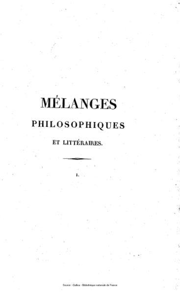 File:Auger - Mélanges philosophiques et littéraires, tome 1.djvu