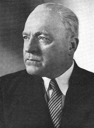 """Augustine B. Kelley - Frontispiece of 1958's """"Augustine B. Kelley, Late a Representative"""".  U.S. Government Printing Office."""