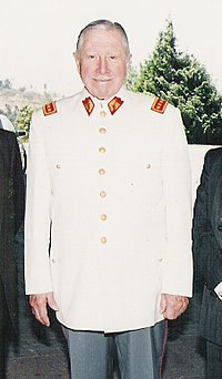Chilean Military Dictator Augusto Pinochet
