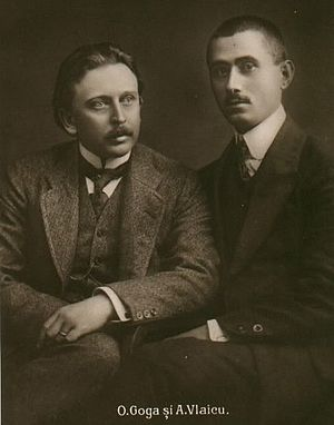 Octavian Goga - Goga and Aurel Vlaicu