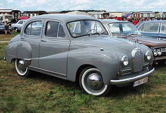 Austin A40 Somerset - Austin A40 Somerset (ca 1953) at Schaffen-Diest 2013
