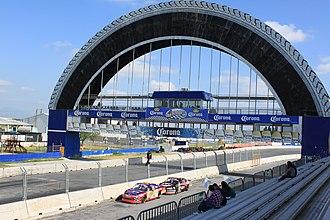 2012 NASCAR Toyota Series - Autódromo Monterrey venue for the kick-off race.