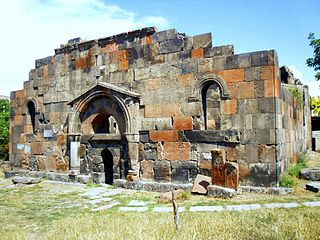 Katoghike Tsiranavor Church of Avan cultural heritage monument of Armenia