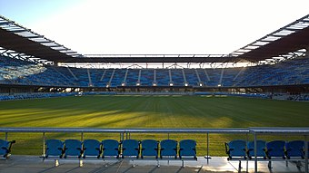 Avaya Stadium, home of the San Jose Earthquakes. Avaya Stadium, 1-7-15.jpg