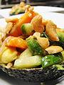 Avocado Papaya Salad (4467442549).jpg