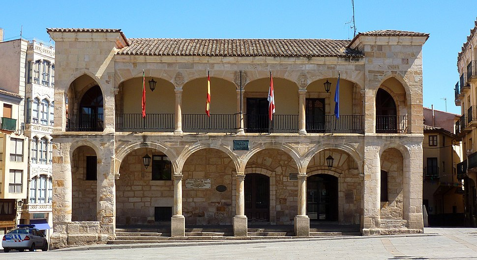 Ayuntamiento Viejo de Zamora.