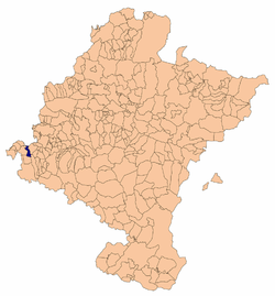 Location in Navarre