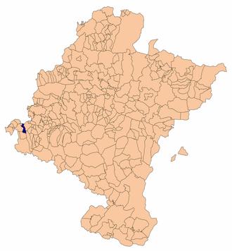 Azuelo - Image: Azuelomapa