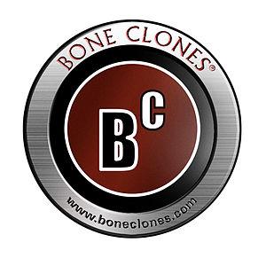 Bone Clones - Image: BC Logo round metal
