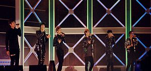 Beast performing at Lotte Giants 2010 Special Concert.