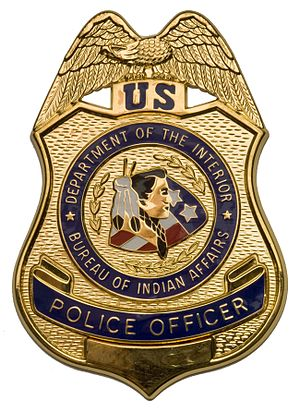 Bureau of Indian Affairs Police - BIA Police badge